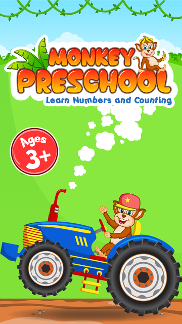 Monkey Preschool - Learn Numbers and Counting screenshot 2