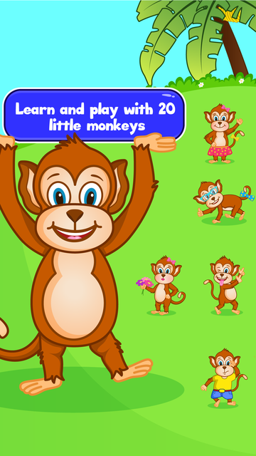 Monkey Preschool - Learn Numbers and Counting screenshot 4