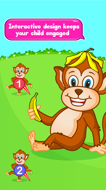 Monkey Preschool - Learn Numbers and Counting screenshot 5