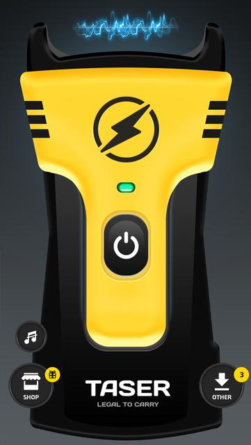 Prank Stun Gun Shocker App screenshot 5