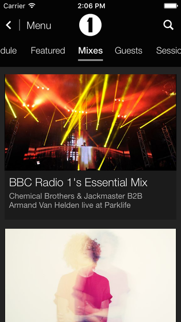 BBC iPlayer Radio screenshot 2