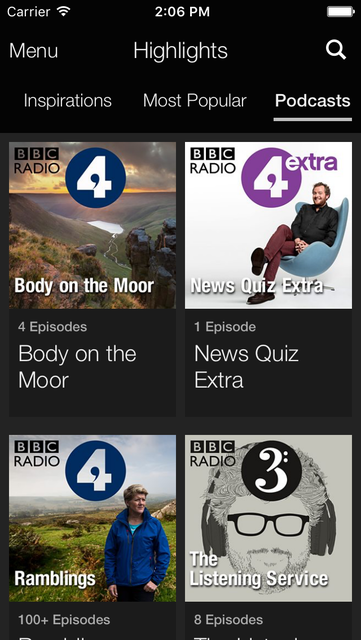 BBC iPlayer Radio screenshot 5