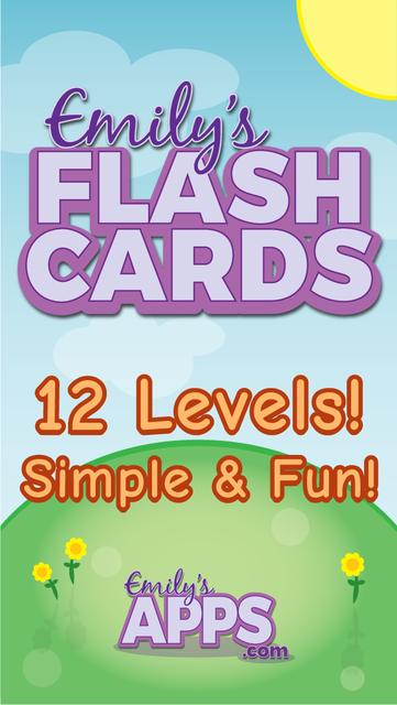 Emily's Flash Cards screenshot 1