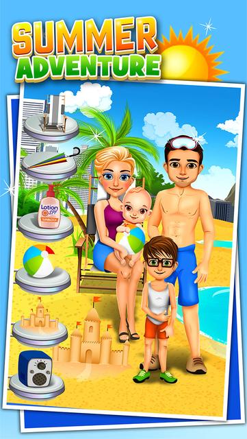 Family Salon Dress-Up Kids Games (Girl & Boy) screenshot 5