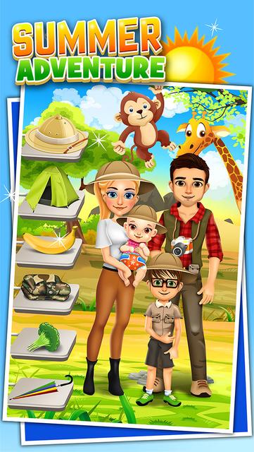 Family Salon Dress-Up Kids Games (Girl & Boy) screenshot 6