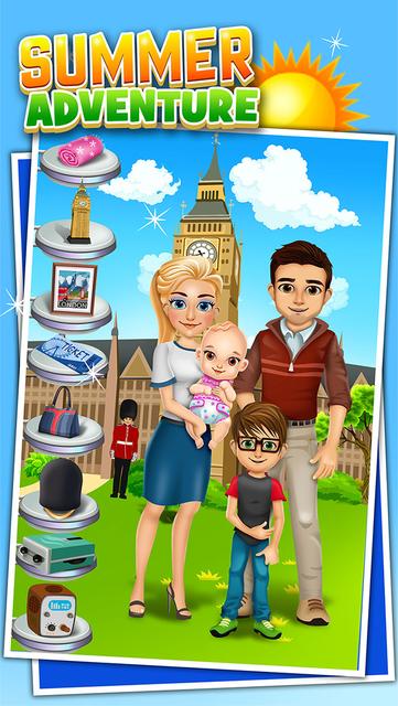 Family Salon Dress-Up Kids Games (Girl & Boy) screenshot 7