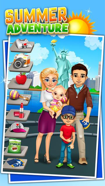 Family Salon Dress-Up Kids Games (Girl & Boy) screenshot 8