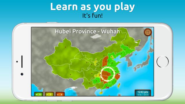 GeoExpert - China screenshot 2