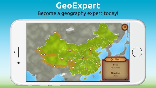 GeoExpert - China screenshot 5