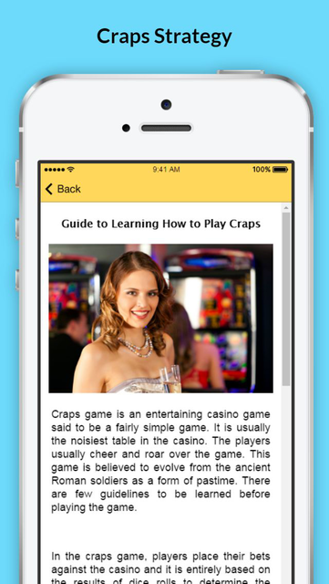 How to Play Craps - Tips and Strategies screenshot 2