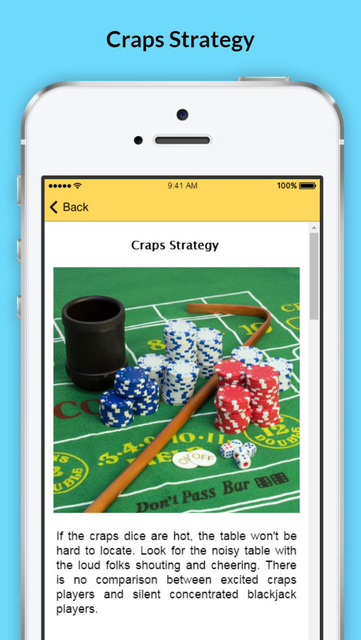 How to Play Craps - Tips and Strategies screenshot 3