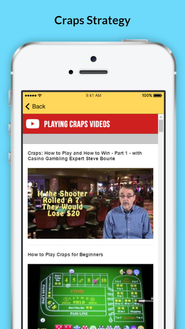 How to Play Craps - Tips and Strategies screenshot 4