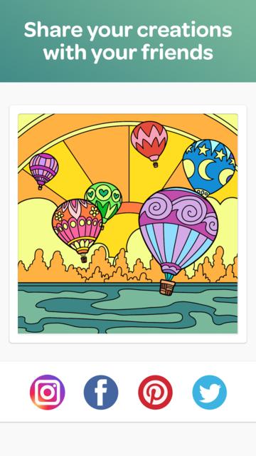 Colorfull - Calm Coloring Book screenshot 4
