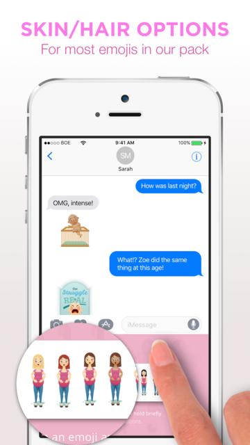 Bundle Of EmoJoy - Emojis for New Moms screenshot 4