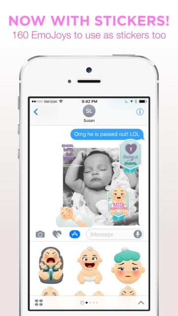 Bundle Of EmoJoy - Emojis for New Moms screenshot 5