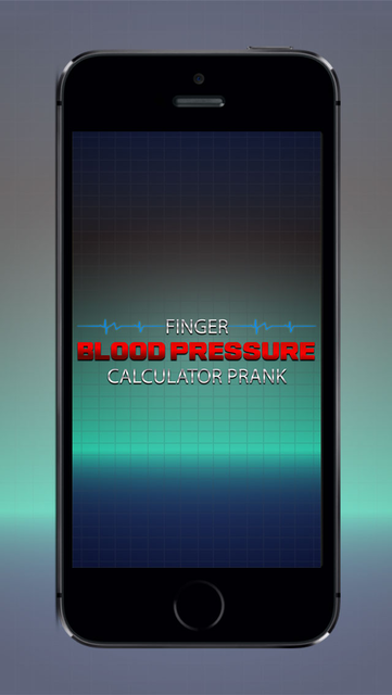 Finger Blood Pressure Calculator Prank - Prank with Friends & Family With Blood Pressure Tracking Application screenshot 1