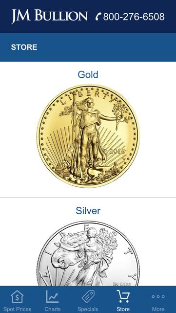Gold & Silver Spot JM Bullion screenshot 9