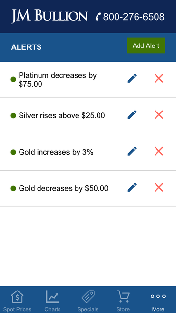 Gold & Silver Spot JM Bullion screenshot 10