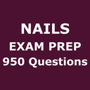 Icon for Nails Exam Prep 950 Questions