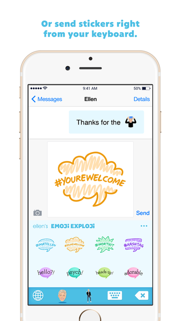 Ellen's Emoji Exploji screenshot 3