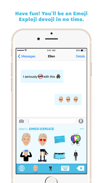 Ellen's Emoji Exploji screenshot 5