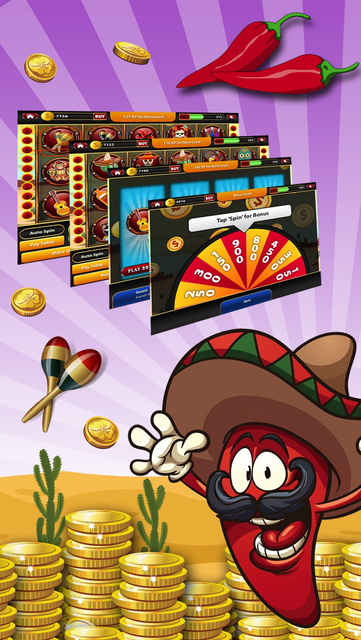 More Chilli Gold Slots Machines - Quick Hit Vintage Casino screenshot 3