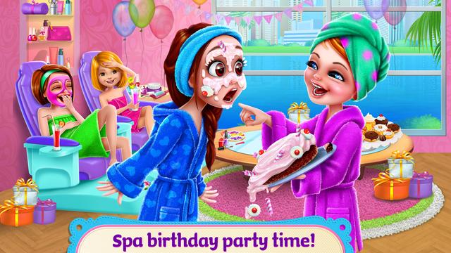 Spa Birthday Party! screenshot 6