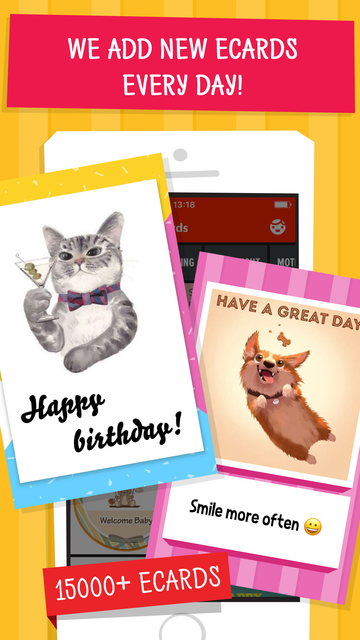 Wizl Greeting Cards & Messages screenshot 11