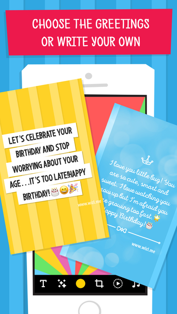 Wizl Greeting Cards & Messages screenshot 14