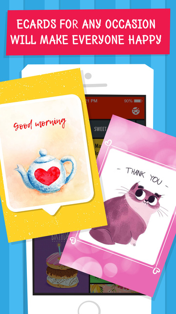 Wizl Greeting Cards & Messages screenshot 16