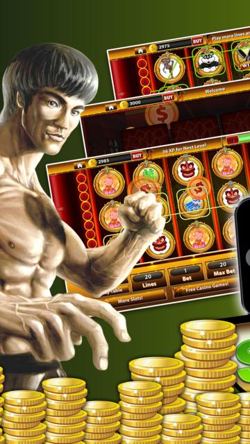 Shaolin KungFu Casino - Spin KungFu Warrior Slots screenshot 1