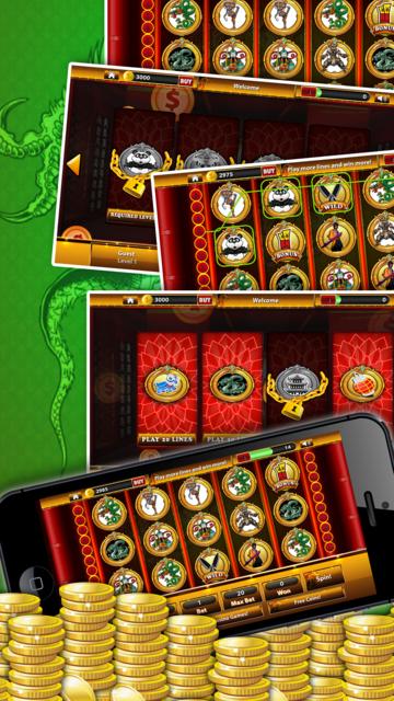 Shaolin KungFu Casino - Spin KungFu Warrior Slots screenshot 3