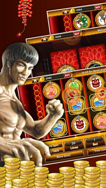 Shaolin KungFu Casino - Spin KungFu Warrior Slots screenshot 4