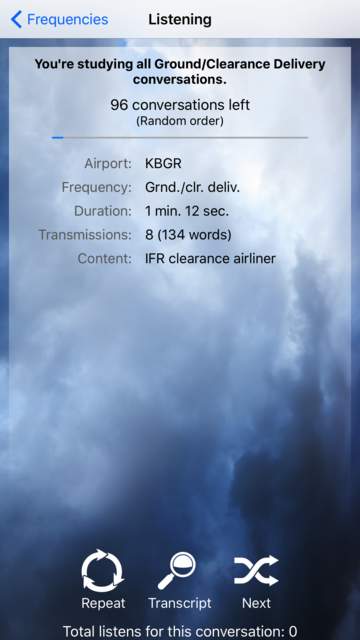 PocketATC screenshot 4