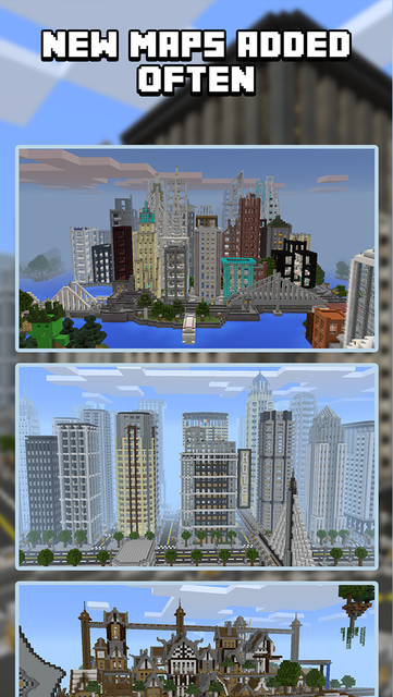 City Maps for Minecraft PE - Best Minecraft Maps screenshot 3