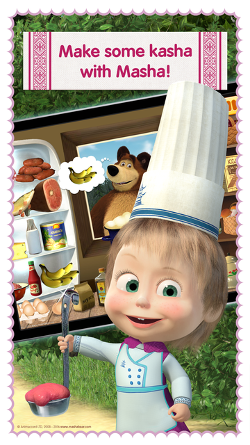 Masha and the Bear: Food Games screenshot 1