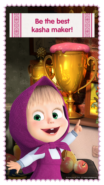 Masha and the Bear: Food Games screenshot 4