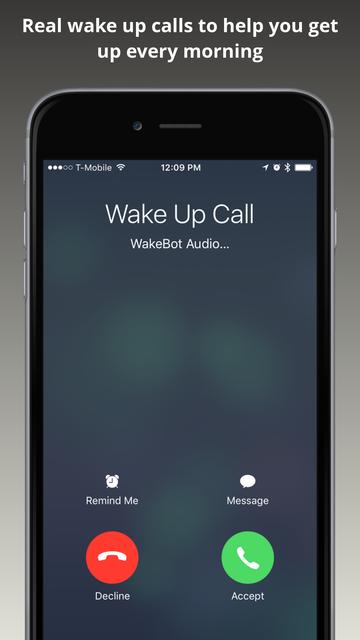 WakeBot screenshot 1