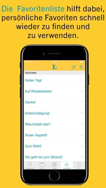 L für die Reise: Reisesätze screenshot 5