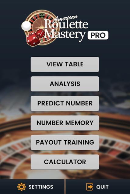 American Roulette Mastery - Trainer, Simulator screenshot 1