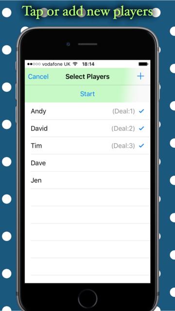Phase10 Game Tracker screenshot 1