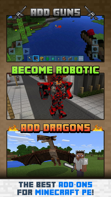 Add-Ons for Minecraft PE screenshot 4
