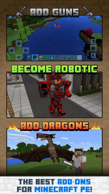 Add-Ons for Minecraft PE screenshot 1