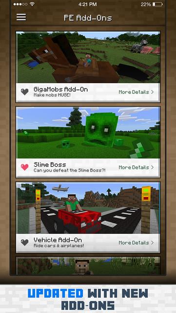 Add-Ons for Minecraft PE screenshot 2