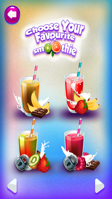 Smoothie Ice Maker – Cooking Chef 4 Girls & Teens screenshot 2