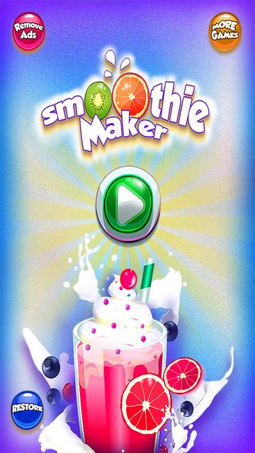 Smoothie Ice Maker – Cooking Chef 4 Girls & Teens screenshot 3