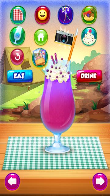 Smoothie Ice Maker – Cooking Chef 4 Girls & Teens screenshot 4