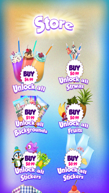 Smoothie Ice Maker – Cooking Chef 4 Girls & Teens screenshot 5