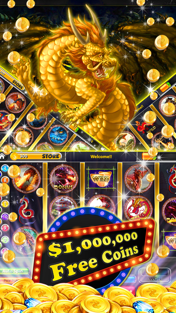50 Red Dragon Slots: Throne Party & Golden Jackpot screenshot 1