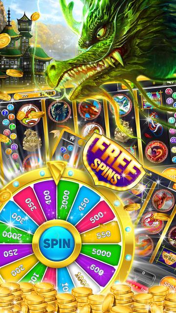 50 Red Dragon Slots: Throne Party & Golden Jackpot screenshot 2
